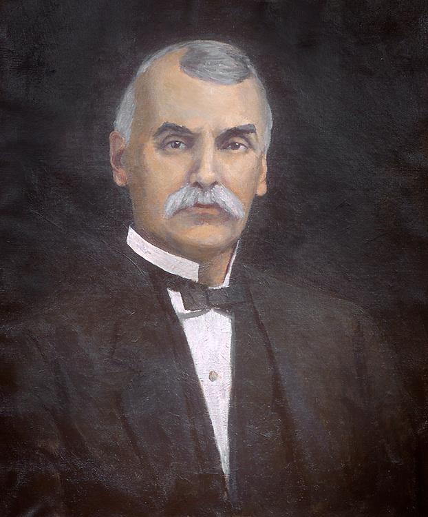 Alston Ellis, Tenth President of Ohio University, 1901-1920. © Ohio University