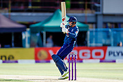 England ODI batsman Joe Root with a boundary during the 3rd Royal London ODI match between England and India at Headingley Stadium, Headingley, United Kingdom on 17 July 2018. Picture by Simon Davies.
