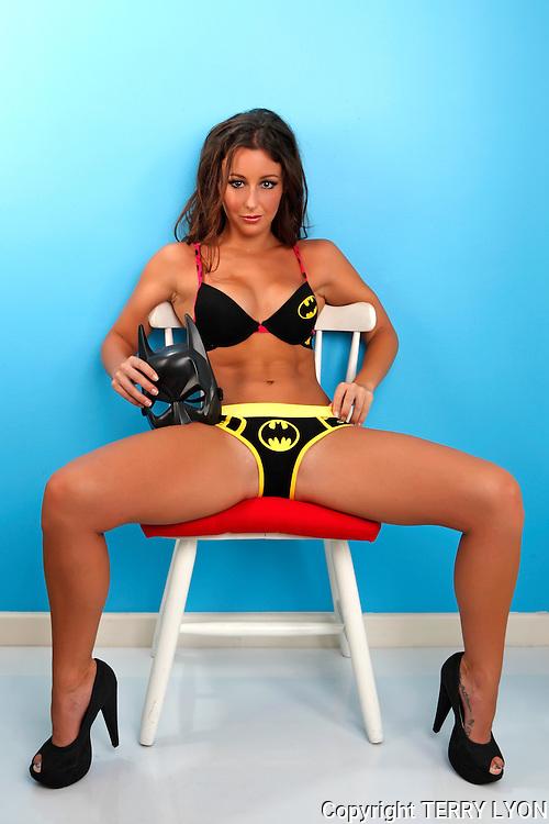 Renee Ashley, Super heros Cottesloe studio shoot, photos Terry Lyon , Terry Lyon Photography