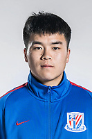 **EXCLUSIVE**Portrait of Chinese soccer player Lyu Pin of Shanghai Greenland Shenhua F.C. for the 2018 Chinese Football Association Super League, in Shanghai, China, 2 February 2018.