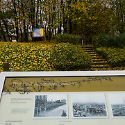 "The information panels near First Australian Division Memorial  the that explain the sites, on the back under the trees  is the ""Gibraltar Blockhouse""  The Battle of ‪Pozières‬ was a two week struggle (23 July – 7 August 1916) by British and Australian divisions for the capture of the village of Pozieres during  the 1916 battle of the Somme."