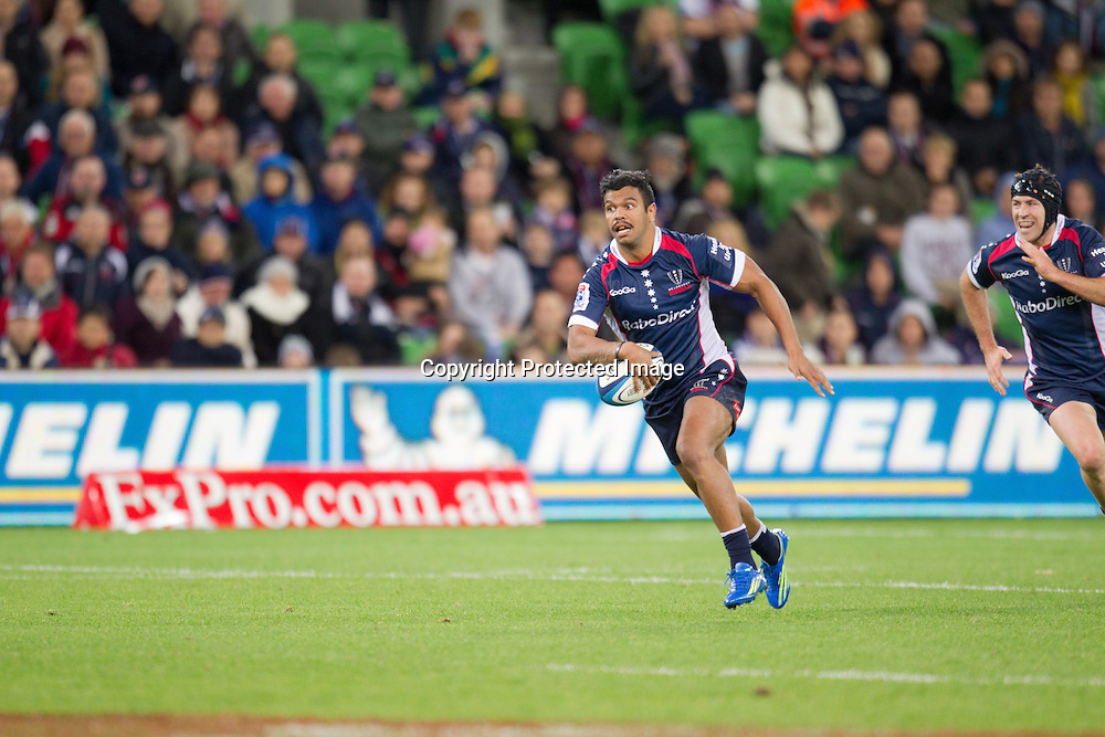 Kurtley Beale, Crusaders, Melbourne Rebels v Canterbury Crusaders 28-19, 12 May 2012