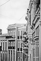 Facades of San Sebastián Street