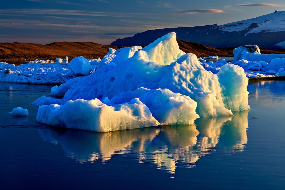 Jokulsarlon Glacier Lagoon 9-47 PM
