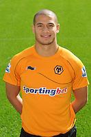 Adlene Guedioura of Wolverhampton Wanderers, at the Wolverhampton Wanderers 2011-2012 Official Photocall