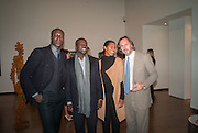 OSWALD BOATENG; DAVID ADJAYE; ASHLEY SHAW-SCOTT; MARC NEWSON, Gala Opening of RA Now. Royal Academy of Arts,  8 October 2012.