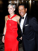 Hilary Gumbel and Bryant Gumbel attend the 8th Annual UNICEF Snowflake Ball at Cipriani 42nd Street in New York City, New York on November 27, 2012.