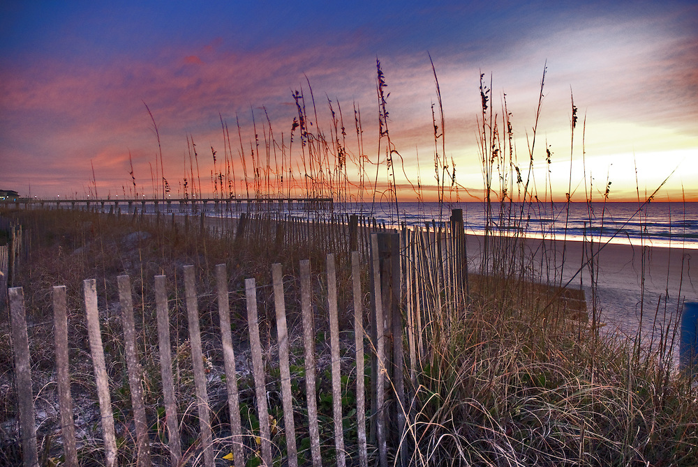 HDR Sunrise, Wrightsville Beach