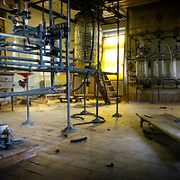 An old DDR/GDR photo chemical mixing lab, empty since 1991