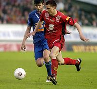 Fotball, Tippeligaen, 29 Mai 2005, Brann - Lyn, Paul Scharner, Brann. Foto: Kjetil Espetvedt, Digitalsport.