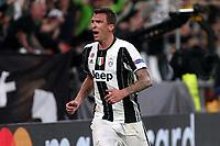 can - 09.05.2017 - Torino - Champions League Semifinale  -  Juventus-Monaco nella  foto: Mario Mandzukic esulta dopo il gol dell' 1 a 0