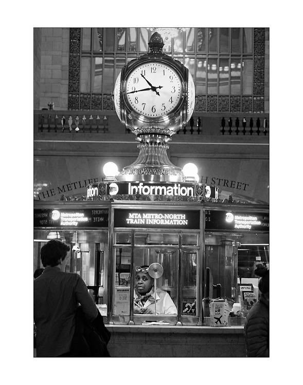 Information Booth at Grand Central Station, New York City ©Ed Hille 2017