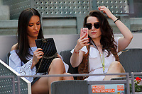 Tennis fans during Madrid Open Tennis 2017 match. May 8, 2017.(ALTERPHOTOS/Acero)