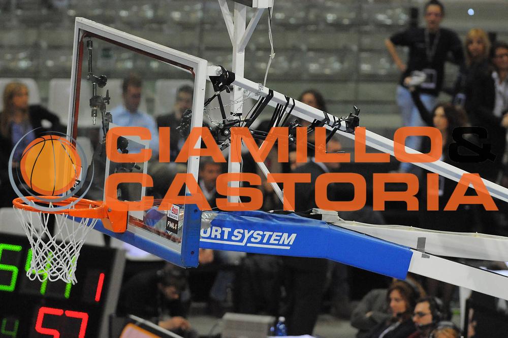 DESCRIZIONE : Torino Coppa Italia Final Eight 2011 Quarti di Finale Montepaschi Siena Scavolini Siviglia Pesaro <br /> GIOCATORE : Canestro Lapresse<br /> SQUADRA : Montepaschi Siena Scavolini Siviglia Pesaro<br /> EVENTO : Agos Ducato Basket Coppa Italia Final Eight 2011<br /> GARA : Montepaschi Siena Scavolini Siviglia Pesaro<br /> DATA : 10/02/2011<br /> CATEGORIA : <br /> SPORT : Pallacanestro<br /> AUTORE : Agenzia Ciamillo-Castoria/GiulioCiamillo<br /> Galleria : Final Eight Coppa Italia 2011<br /> Fotonotizia : Torino Coppa Italia Final Eight 2011 Quarti di Finale Montepaschi Siena Scavolini Siviglia Pesaro <br /> Predefinita :