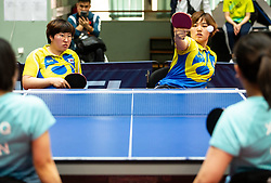 LEE Mi Gyu and YOON Jiyu (KOR) during Team events at Day 4 of 16th Slovenia Open - Thermana Lasko 2019 Table Tennis for the Disabled, on May 11, 2019, in Dvorana Tri Lilije, Lasko, Slovenia. Photo by Vid Ponikvar / Sportida