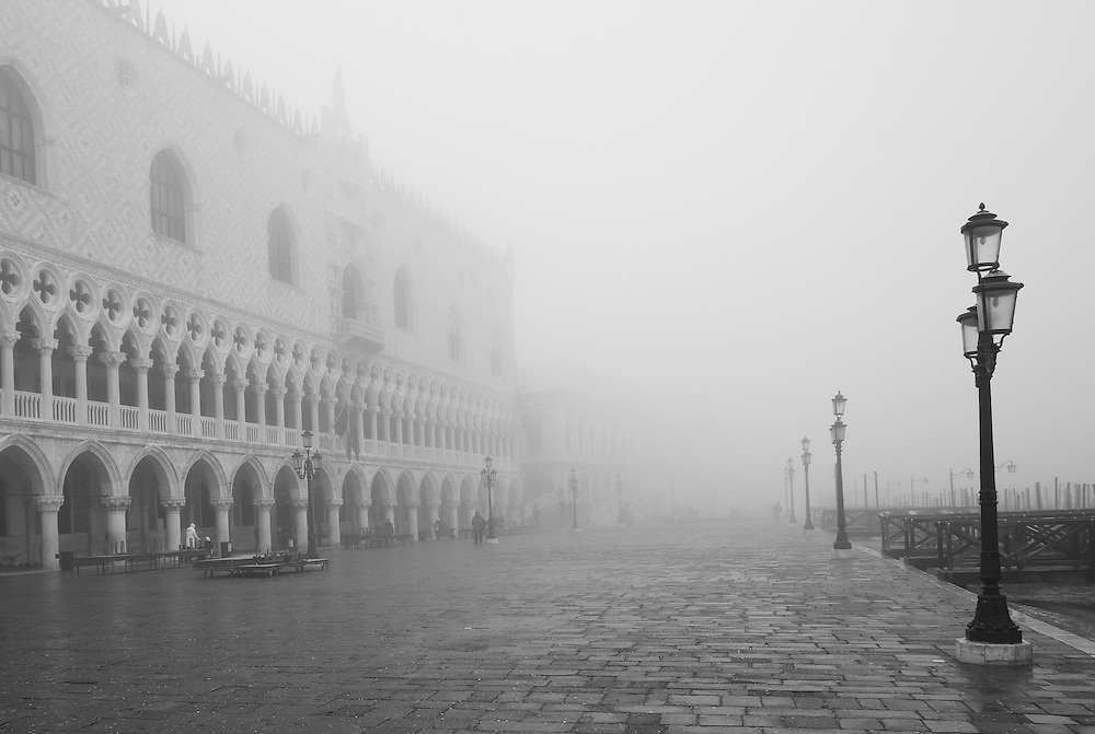 Venice 29th January 2013  Venice in the fog!