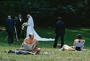 Central Park Wedding, New York City, New York, USA, March 1984