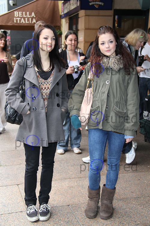 Kathryn Prescott; Megan Prescott Shrek Forever After Gala Screening held at the Vue Cinema, Leicester Square, London, UK, 20 June 2010. For piQtured Sales contact: Ian@piqtured.com Tel: +44(0)791 626 2580 (Picture by Richard Goldschmidt/Piqtured)