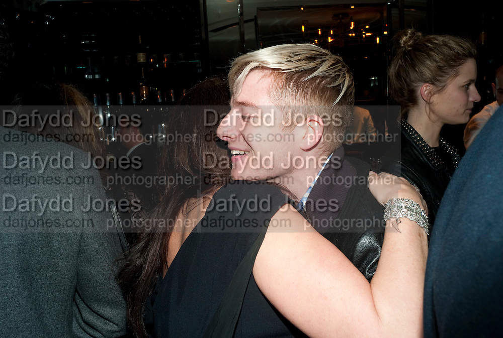 FRAN CUTLER; EMILY SHANK, GQ Style party, The Bassoon Bar , The Corinthia Hotel, Whitehall Place London. 15 March 2011.  -DO NOT ARCHIVE-© Copyright Photograph by Dafydd Jones. 248 Clapham Rd. London SW9 0PZ. Tel 0207 820 0771. www.dafjones.com.