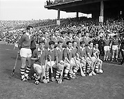07/09/1969<br /> 09/07/1969<br /> 7 September 1969<br /> All-Ireland Senior Hurling Final: Kilkenny v Cork at Croke Park, Dublin.  <br /> The Cork senior hurling team.