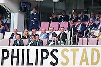 EINDHOVEN - 14-08-2016, PSV - AZ, Philips Stadion, 1-0, Marcel Brands, Toon Gerbrands, Robert Eenhoorn, Max Huiberts.
