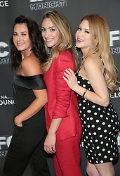 """Scout Taylor-Compton, Landry Allbright and Renee Olstead at the premiere of """"Feral"""" held at the Arena Cinelounge in Hollywood.<br /> (Los Angeles, CA)"""
