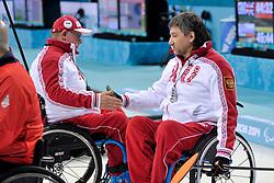 Marat Romanov, Andrey Smirnov, Wheelchair Curling Semi Finals at the 2014 Sochi Winter Paralympic Games, Russia