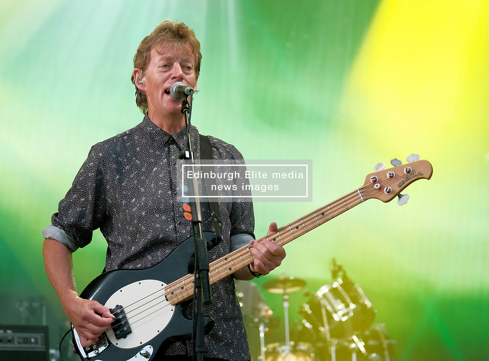 RUNRIG - THE LAST DANCE - FINAL FAREWELL CONCERT, Stirling, Saturday,18th August 2018<br /> <br /> Veteran Scottish rockers Runrig played their farewell concert tonight to mark their retirement after 45 years in the music business.<br /> <br /> The current line-up features Rory Macdonald (Bass), Calum Macdonald (Percussion), Iain Bayne (Drums), Malcolm Jones (Guitar), Brian Hurren (Keyboard) and Bruce Guthro (Lead Singer)<br /> <br /> They were supported by former member Donnie Munro and Julie Fowlis<br /> <br /> Pictured:  Runrig<br /> <br /> <br /> (c) Alex Todd | Edinburgh Elite media