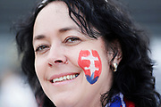 LUBLIN, POLAND - 2017-06-22: Slovakiska fans under UEFA U21 matchen mellan Slovakien och Sverige p&aring;  Arena Lublin den 22 juni, 2017 i Lublin, Polen. <br /> Foto: Nils Petter Nilsson/Ombrello<br /> Fri anv&auml;ndning f&ouml;r kunder som k&ouml;pt U21-paketet.<br /> Annars Betalbild.<br /> ***BETALBILD***