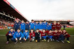 before the match - Photo mandatory by-line: Rogan Thomson/JMP - 07966 386802 - 25/01/2015 - SPORT - FOOTBALL - Bristol, England - Ashton Gate Stadium - Bristol City v West Ham United - FA Cup Fourth Round Proper.