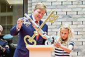 Koning opent vernieuwd Museum De Lakenhal