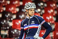 Kevin Sireau - 27.01.2015 -Entrainement Equipe de France de cyclisme sur piste - Saint Quentin en Yvelines <br />Photo : Anthony Dibon / Icon Sport