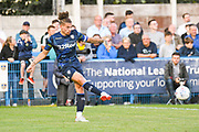 Leeds United midfielder Kalvin Phillips (2) during the Pre-Season Friendly match between Guiseley  and Leeds United at Nethermoor Park, Guiseley, United Kingdom on 11 July 2019.