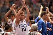 Europei Roma 1991 <br /> Finale Italia vs Jugoslavia <br /> Davide Pessina <br /> Foto: Fabio Ramani