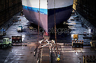 Copyright Jim Rice © 2013.<br /> Ship Dry Dock.<br /> Australia