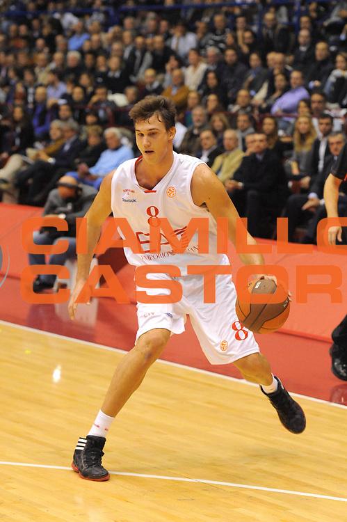 DESCRIZIONE : Milano Eurolega 2011-12 EA7 Amporio Armani Milano Maccabi Electra Tel Aviv<br /> GIOCATORE : Danilo Gallinari<br /> CATEGORIA : <br /> SQUADRA : EA7 Amporio Armani Milano<br /> EVENTO : Eurolega 2011-2012<br /> GARA : EA7 Amporio Armani Milano Maccabi Electra Tel Aviv<br /> DATA : 20/10/2011<br /> SPORT : Pallacanestro <br /> AUTORE : Agenzia Ciamillo-Castoria/GiulioCiamillo<br /> Galleria : Eurolega 2011-2012<br /> Fotonotizia : Milano Eurolega 2011-12 EA7 Amporio Armani Milano Maccabi Electra Tel Aviv<br /> Predefinita :