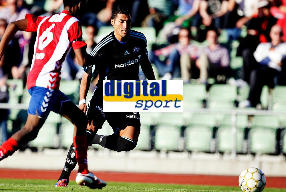 Fotball<br /> 1. runde i NM Cup<br /> Bislett Stadion , 01.05.12<br /> Lyn - V&aring;lerenga<br /> Abdurahim Laajab IBBA<br /> Foto: Eirik F&oslash;rde
