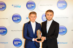 Mercury Prize. <br /> Disclosure attends the Barclaycard Mercury Prize at The Roundhouse, London, United Kingdom. Wednesday, 30th October 2013. Picture by Chris Joseph / i-Images