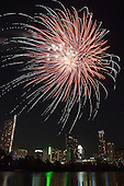 Austin, TX - Fireworks