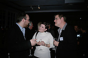 Peter Kelly, Lisa and Mathew Trzebiatowska, Maricopa Partnership for Arts and Culture,  Arizona Office of Tourism, and Arizona Department of Commerce<br /> In association with the Architecture Foundation and Blueprint magazine host Phoenix: 21st Century City , Serpentine Gallery, London. 12 March 2007.  -DO NOT ARCHIVE-© Copyright Photograph by Dafydd Jones. 248 Clapham Rd. London SW9 0PZ. Tel 0207 820 0771. www.dafjones.com.