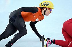 08-02-2014 SHORTTRACK: OLYMPIC GAMES: SOTSJI<br /> Jorien ter Mors in actie op de 500 meter<br /> ©2014-FotoHoogendoorn.nl