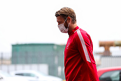 Nathan Baker of Bristol City arrives during a friendly match before the Premier League and Championship resume after the Covid-19 mid-season disruption - Rogan/JMP - 12/06/2020 - FOOTBALL - St Mary's Stadium, England - Southampton v Bristol City - Friendly.