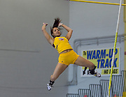 Bethune-Cookman freshman Sasha Smallwood won the Women's Poll Vault with a meet record jump of 3.49 meters during the 2012 MEAC Indoor Track Championship in Landover, Maryland.  02/17/12  (Photo by Mark W. Sutton)