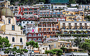 Coastal resort village of Positano, Amalfi Coast, Italy
