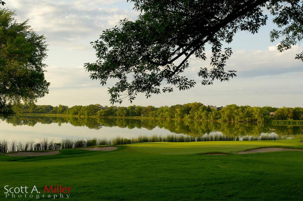Hole No. 10 at Hazeltine National Golf Club...© 2006 Scott A. Miller