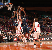 Gardner-Webb vs Connecticut during the 2K Sports College Hoops Classic benefiting Coaches vs Cancer on Friday November 16, 2007 at Madison Square Garden in New York, NY. (Mandatory Credit: Delane B. Rouse/ContrastPhotography.com)