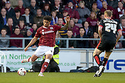 Northampton Town Defender Josh Lelan during the Sky Bet League 2 match between Northampton Town and Crawley Town at Sixfields Stadium, Northampton, England on 19 April 2016. Photo by Dennis Goodwin.