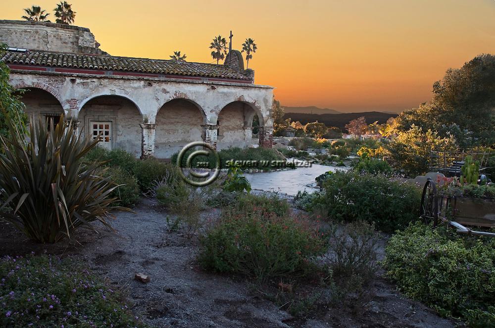 Golden Hour, Mission San Juan Capistrano