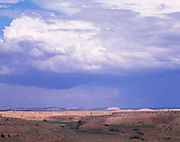 Begashibito Canyon, wash & storm clouds, near Cow Springs, Arizona..Subject photograph(s) are copyright Edward McCain. All rights are reserved except those specifically granted by Edward McCain in writing prior to publication...McCain Photography.211 S 4th Avenue.Tucson, AZ 85701-2103.(520) 623-1998.mobile: (520) 990-0999.fax: (520) 623-1190.http://www.mccainphoto.com.edward@mccainphoto.com.