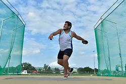 04/08/2017; Bogado, Jesus Leonel, F46, ARG at 2017 World Para Athletics Junior Championships, Nottwil, Switzerland